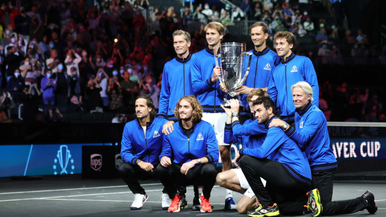 Team Europe has now won all four editions of the Laver Cup, which began in 2017. It will be held in London in 2022.