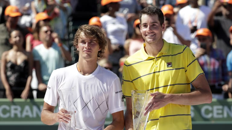 How John Isner found a second wind—twice—to win the Miami Open