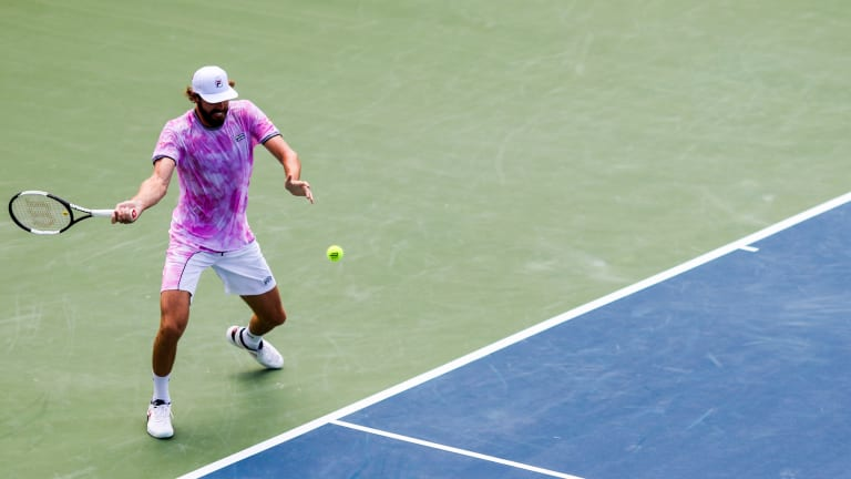 Opelka struck nine aces against Galán and only lost seven points behind his first serve on Wednesday.