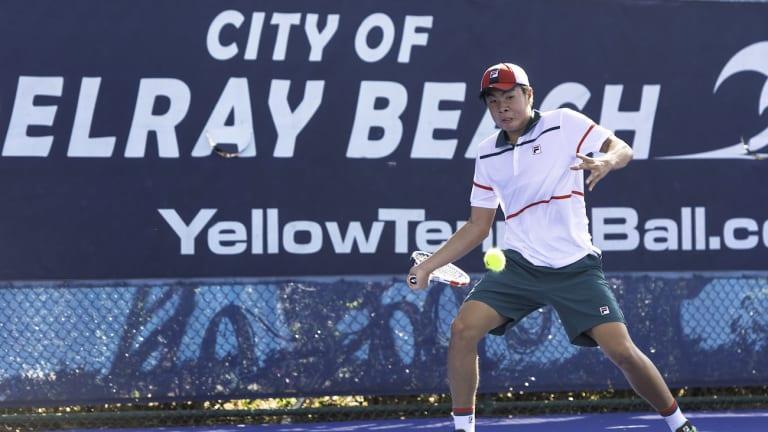 Nakashima dives headfirst into ATP debut with a quarterfinal run