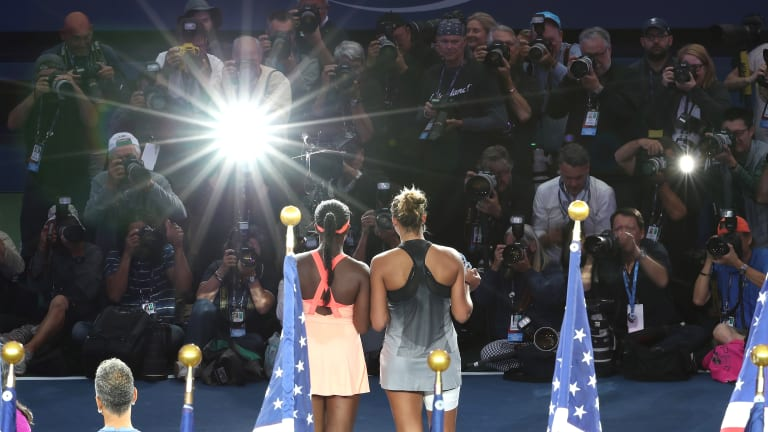 The winner of the Stephens-Keys first-round match could face Coco Gauff in the second round.