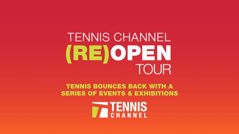 "Pro tennis returns to California for ""Home Court Advantage"" exhibition"