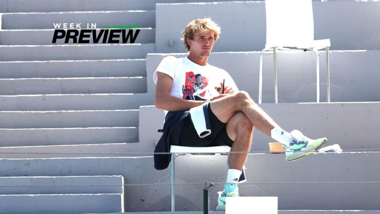 Week in Preview: Zverev and Shapovalov headline Munich, Estoril
