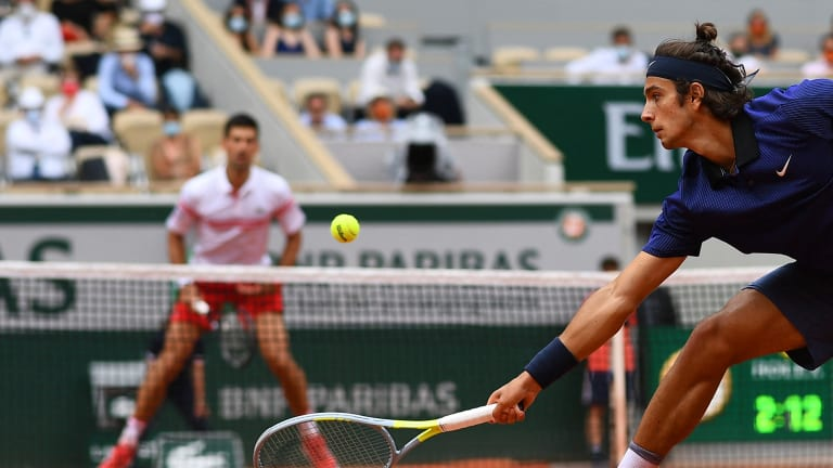 Djokovic's fourth-round win over Musetti was his record-breaking 31st five-set win at a Grand Slam