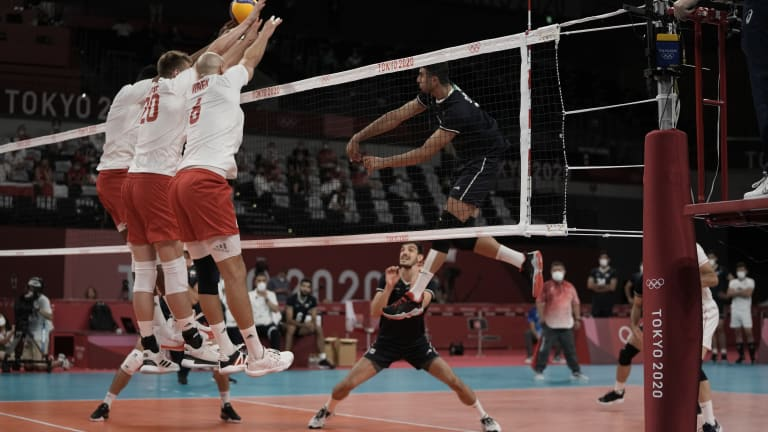 CORRECTION Tokyo Olympics Volleyball
