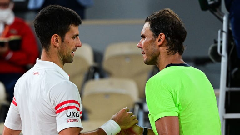 Djokovic improved his head-to-head against Nadal to 30-28 after an insta-classic four-setter (Getty Images).