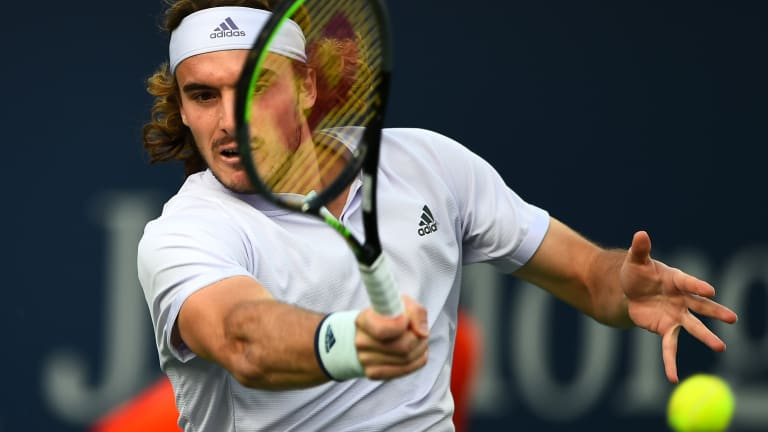 Tsitsipas puts on near-flawless performance to top Paire in UTS