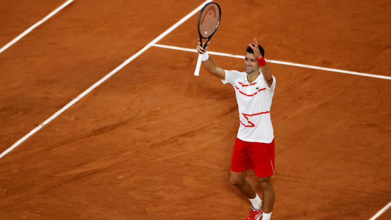 Djokovic now 60-2 in first round on Grand Slam stage with win in Paris