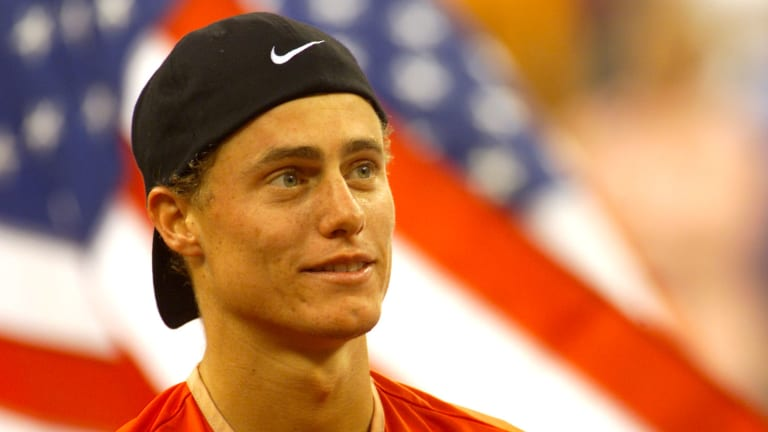 On September 9, 2001, Lleyton Hewitt defeated Pete Sampras in one of the performances of his career to win his first Grand Slam singles title.