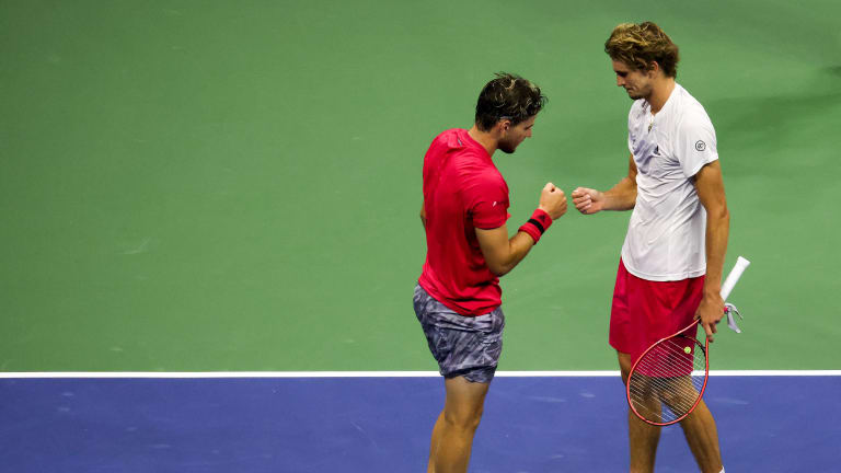 Thiem and Zverev battled for the US Open title last September, but are still searching for consistency across the board.