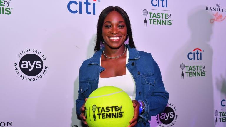 Isner, Stephens kick off D.C. at Citi Taste of Tennis