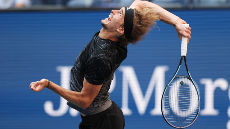 If Zverev faces Djokovic next, the German will be looking for his first major win over the world No. 1 (0-2, which includes a four-set loss at this year's Australian Open).