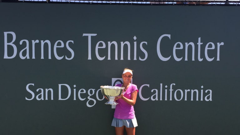Child prodigy Kenin gains experience from U.S. Open debut