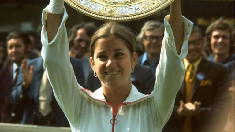 Colette Evert, mother to Chris, was tennis' most exemplary parent