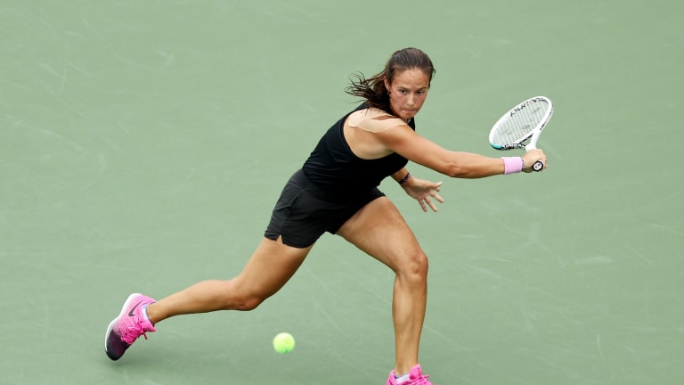 Kasatkina owns a 31-15 record and two titles in 2021.
