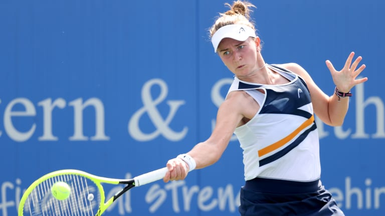 Having missed last year's US Open, Krejcíkova will only have points to gain in her main draw debut.