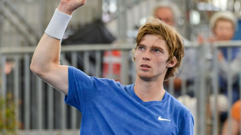 Ranking Reaction: With fourth title, red-hot Andrey Rublev up to No. 8
