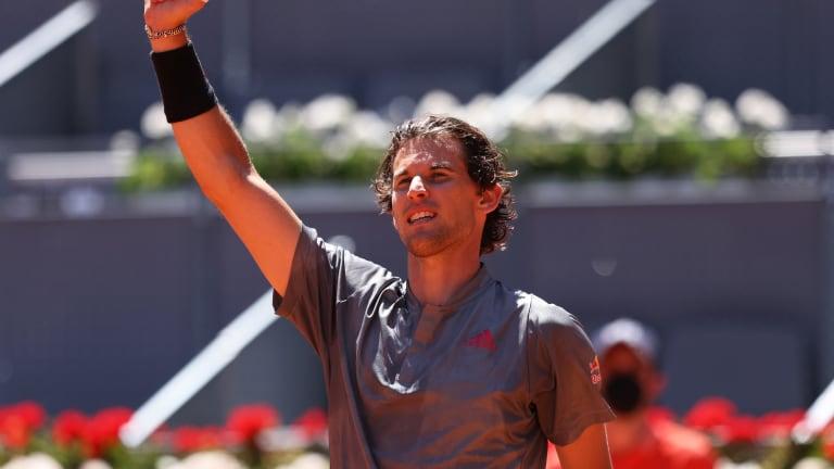 Top 5 Photos 5/7:  Thiem beats Isner;  Rafa falls in Madrid