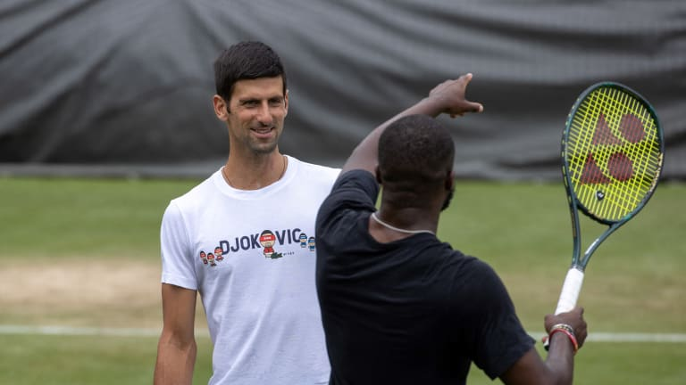 Prior to Wimbledon, Djokovic and his PTPA colleagues held a press conference to answer questions about the organization's plans and objectives.
