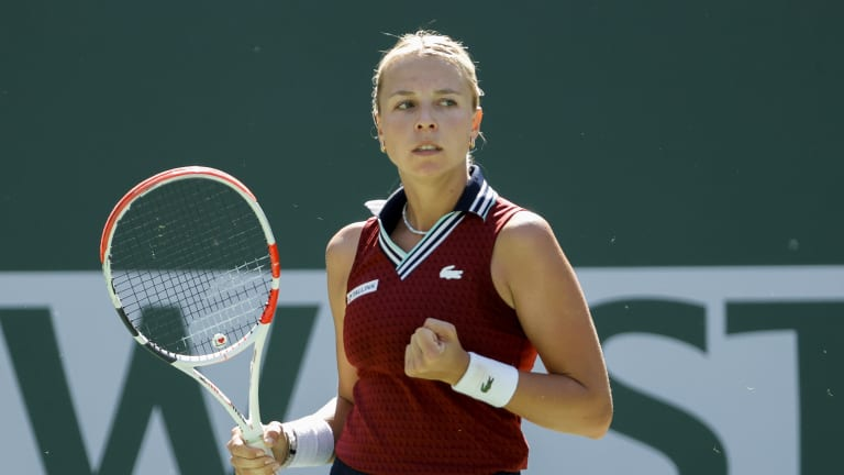 Kontaveit improves to an impressive 15-1 since winning her second career title in Cleveland before the US Open.