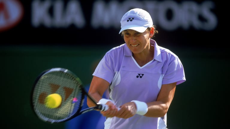 Monica Seles played her last match in 2003 (Getty Images).