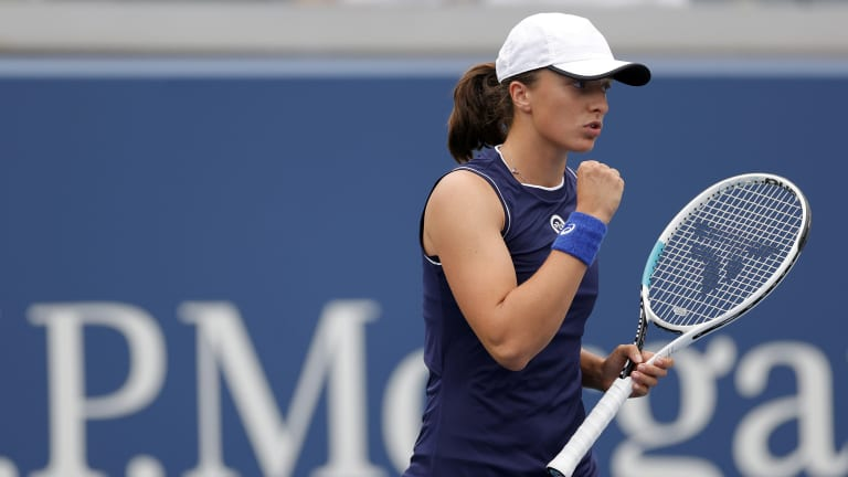 Iga Swiatek credits much of her recent success to her sports psychologist.