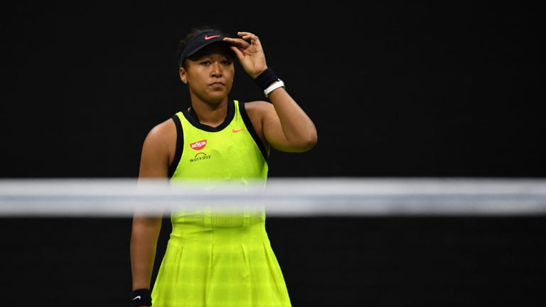 It's unclear when we'll see Osaka on the court again.