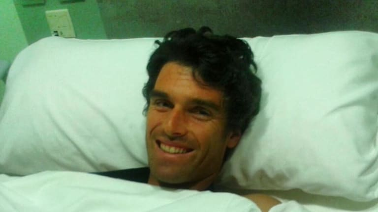 After a long journey, Pablo Andujar is finally free of pain