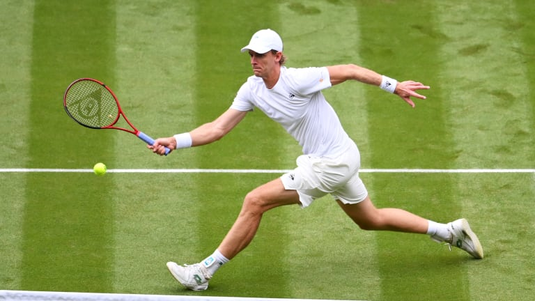 Anderson was ranked as high as No. 5 after reaching the Wimbledon final in 2018 (Getty Images).