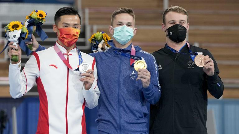 Tokyo Olympics Trampoline
