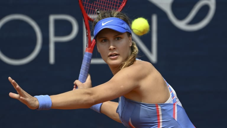 Bouchard reaches first WTA final in four and a half years in Istanbul