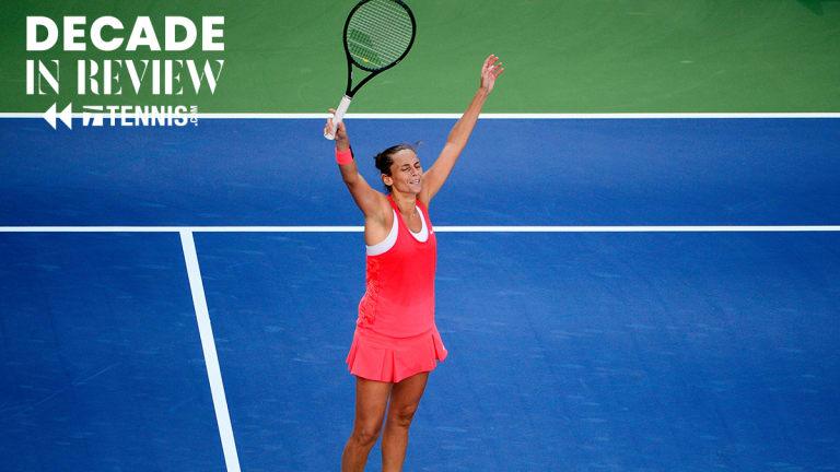 Women's Match of the Decade No. 1: Vinci  d. Serena, 2015 US Open
