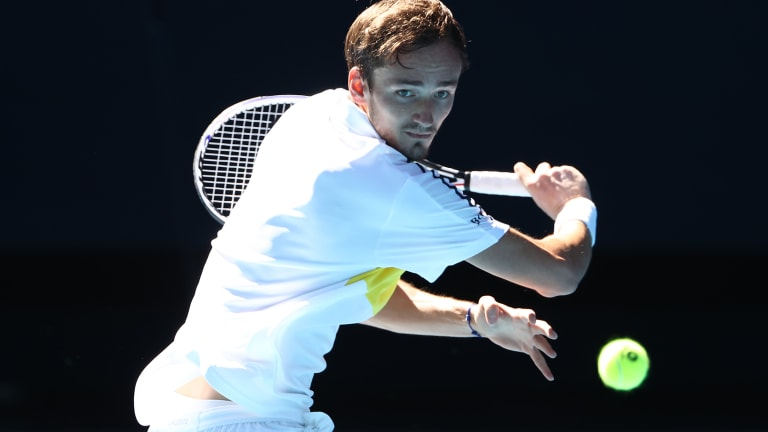 Medvedev maintains dominance over Rublev, increases win streak to 19
