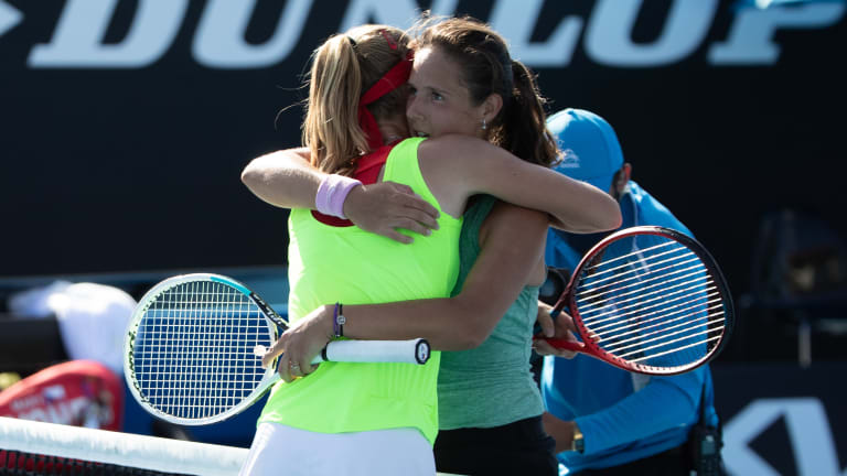 """Kasatkina: winning or losing """"doesn't have to break your inside child"""""""
