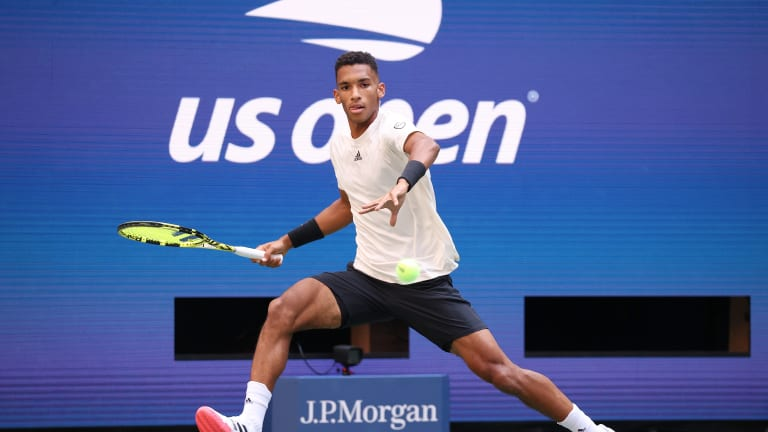 The future is bright for the 21-year-old Canadian, but best-of-five-set play is tall mountain to climb.