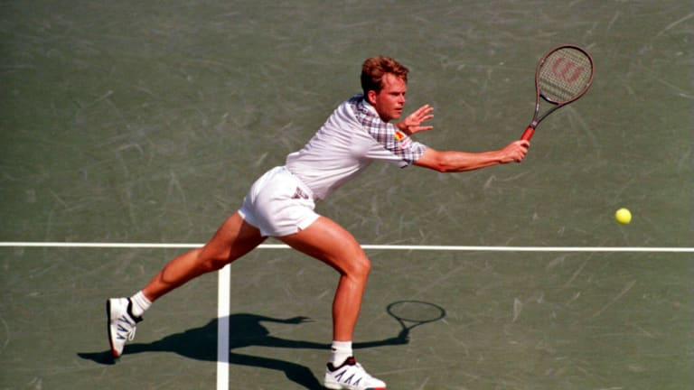 Swift movement and sharp volleys carried Edberg to six Grand Slam singles titles.