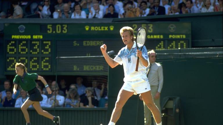 Edberg and Becker  recount Wimbledon   final trilogy