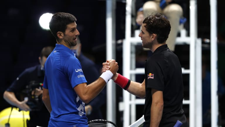 """2020 Top Matches, No. 8: Thiem's """"unreal"""" finish ends Djokovic's year"""