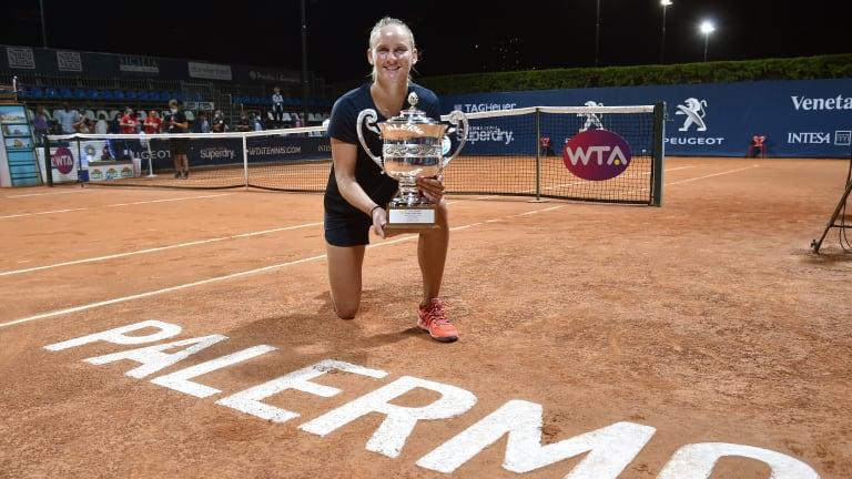 Ferro beats Kontaveit to win first title of tennis' return In Palermo