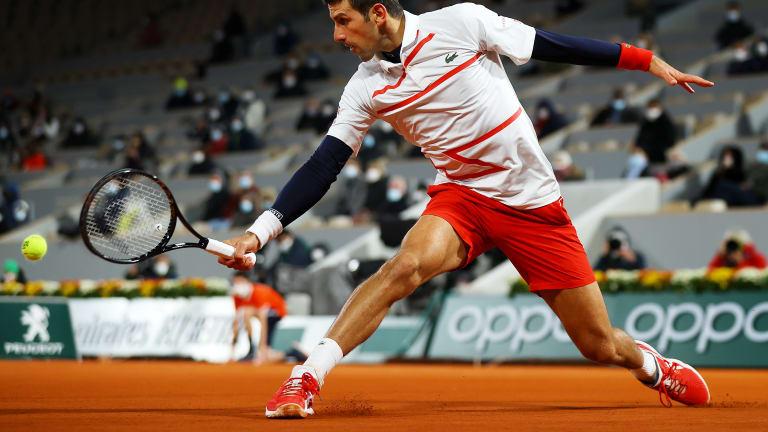 Djokovic battles into milestone 10th career Roland Garros semifinal