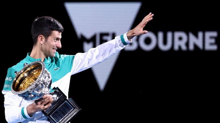 Novak Djokovic: 18 stats for the world No. 1's 18th Grand Slam title