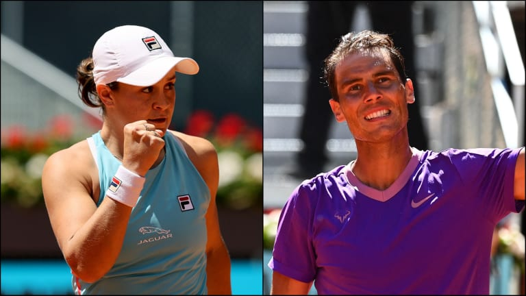 Barty soars into Madrid final after ending Badosa's run; Nadal cruises