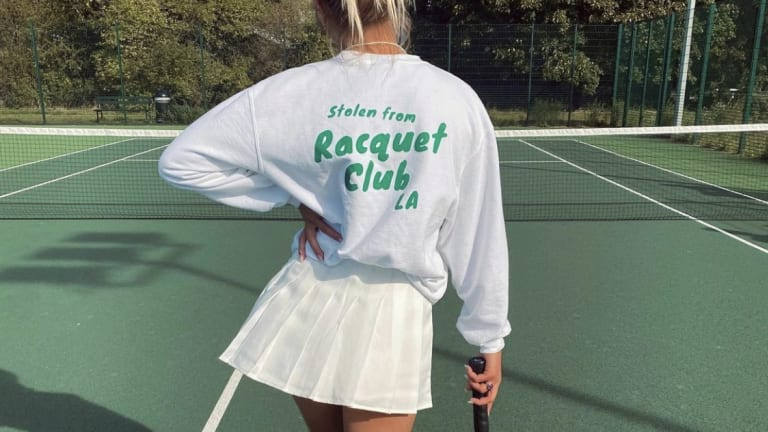 Racquet Club LA  mixes modern day  tennis, '70s style
