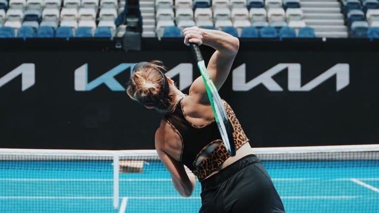 Top 5 Photos 1/25: Svitolina swings  away Down Under