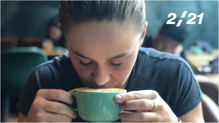 How do you take your coffee? For players in Melbourne, quite seriously