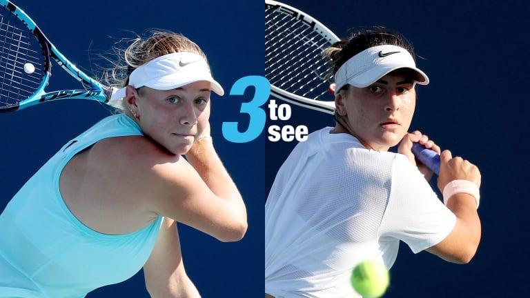Three To See: Andreescu-Anisimova launch rivalry, Pegula-Pliskova III