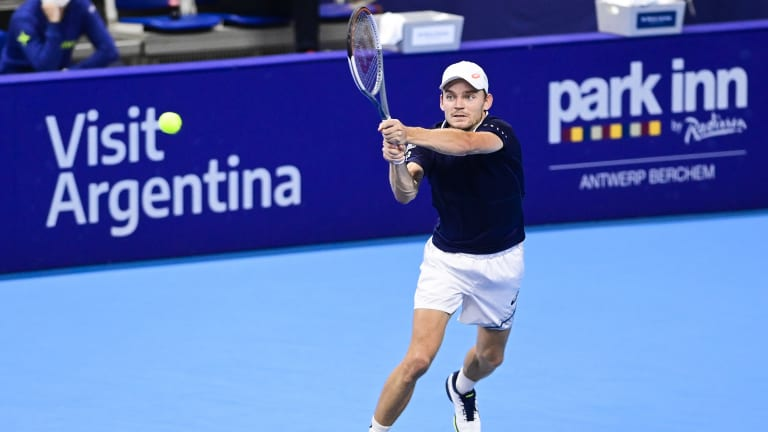 Antwerp—Goffin falls in return from COVID-19; Bergs relishes wild card