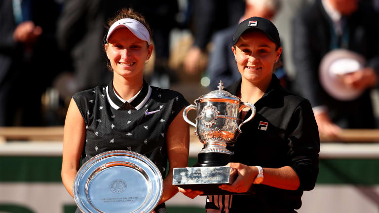 French Open finalist Vondrousova out for rest of 2019