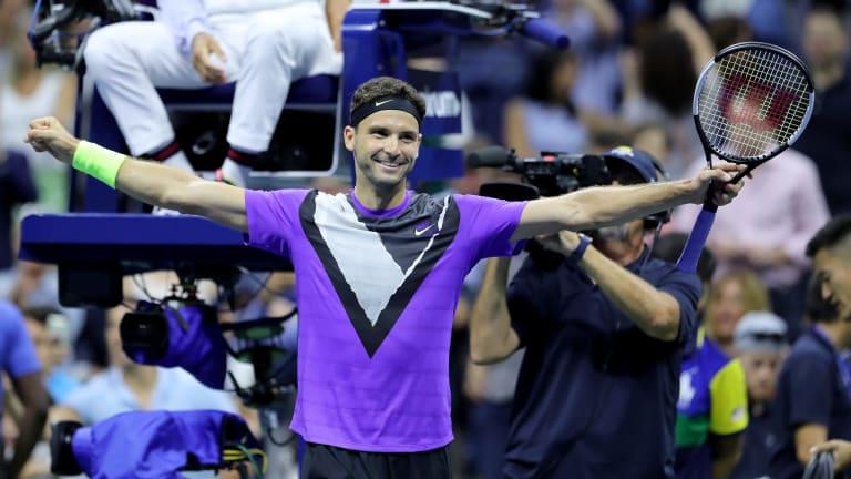 Career-changer? Grigor Dimitrov earns first win over Roger Federer