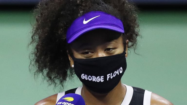Naomi Osaka is playing with greater purpose, and a game that's growing